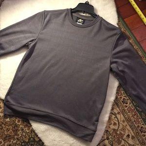Buttery soft. factory flawed, new sweatshirt.